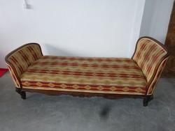 Bécsi barokk szófa, kanapé, ágy.