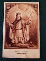 Régi képeslap, Márton L. Szent Imre ( Készüljetek a Szent Imre év méltó megünneplésére ) 1030-1930