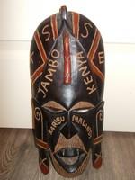 Egzotikus Afrikai fali dísz – maszk (AA-01)