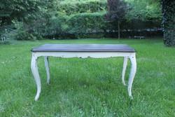 Vintage, barokk dohányzó  asztal