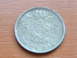 BELGIUM BELGIQUE 5 FRANK 1971