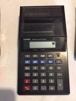 Casio asztali szalagos RETRO számológép, működik (NB)