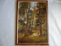 Gaston Blondeau francia festő egyik tájképe