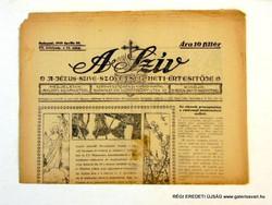 1935 április 20  /  A SZÍV  /  RÉGI EREDETI ÚJSÁG Szs.:  6281