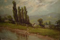 Varga József Festmény