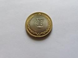 Portugál bimetál 200 escudos 1998 Unc.