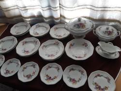 Gyönyörű antik Rosenthal 6 személyes étkészlet!