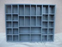 Miniatűr díszeknek fali polc 47 x 36 x 5,5 cm