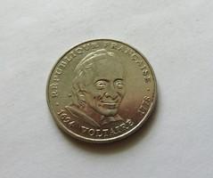 Francia 5 frank 1994.