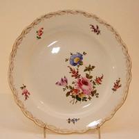 Meissen porcelán tányér