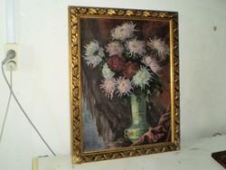 """Molnár Z.János"""" Virágcsendélet"""""""