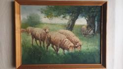 Mesterházy Dénes Bárányok és a Juhász