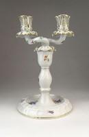 0Q596 Antik Herendi porcelán gyertyatartó 1939