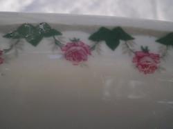 Pecsenyéstál - M+Z - porcelán - nagyon régi Osztrák  nagyméretű 38 x 28 x 4 cm