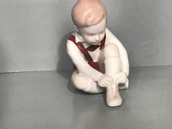 Aquincumi gyerek porcelán
