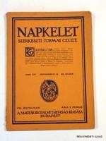 1929 november 15  /  NAPKELET  /  RÉGI EREDETI ÚJSÁG Szs.:  6611