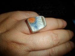 Iparművész gyűrű / zománc