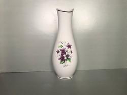 Hollóházi ibolyás váza, nagy, 32 cm. hibátlan