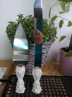 Torta lapát és kés