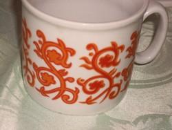 Zsolnay régi ritka csésze
