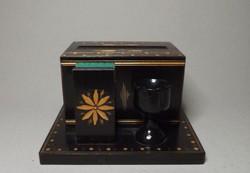 Erdélyi ,székely retro cigaretta tartó készlet