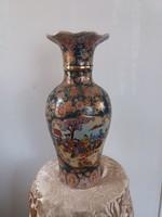 Nagy kínai díszes padlóváza,váza