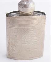 Ezüst parfümüveg 800 as német jel