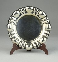 0R485 Régi ezüst keresztelő pohár alátét 25 g
