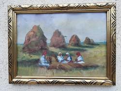 A mezőn (ismeretlen festő)
