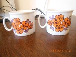 Zsolnay porcelán bögre 2 db