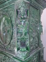 Muzeális ANTIK cserépkályha a HISTORIZMUS korából