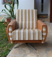 Retró forgó fotel