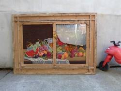 Felújítandó hatalmas antik képkeret  120 x 88 cm