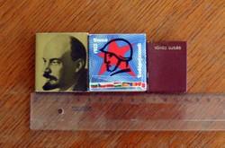 Szocialista minikönyv-relikviák