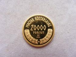 Gyűjteményből eladó arany 20.000 Forint 1996.
