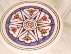Csodaszép  cyprusi  jelzett görög kerámia 9 cm