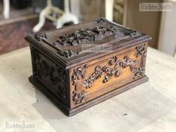 Antik bútor, Bécsibarokk dobozka.