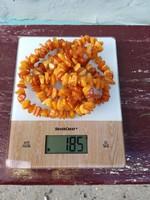 Balti borostyán nyaklánc 185 g
