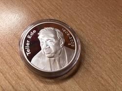 Teller Ede ezüst 5000 Ft 31,46 gramm 0,925 PP R