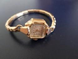 Árt deco bulova arany női óra