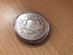 Pénzverés ezüst 3000 Ft 31,46 gramm 0,925 R