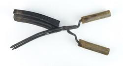 0R978 Antik hajsütő vas fodrászati kellék