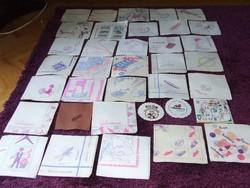 Szalvéta gyűjtemény 263 darab