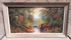 Antik francia klasszicista festmény