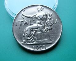 1 Lira (Italia Seduta) - 1923