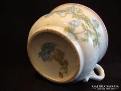Antik vastag porcelán csésze