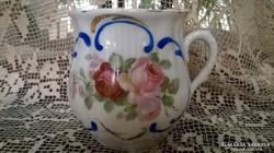 Szép, pocakos porcelán bögre emlék felirattal