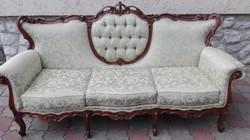 Gyönyörű barokk szofa, kanapé.