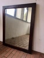 Fazettázott antik tükör
