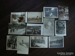 1 VH katonai fotók - képeslapok 12 db